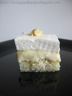 Inato lang Filipino Cuisine and More: Ekmek Kataifi (A Greek Dessert)