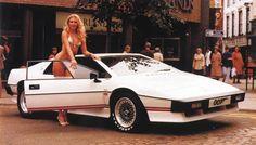 James Bond's Lotus Esprit Turbo& Bond Girl