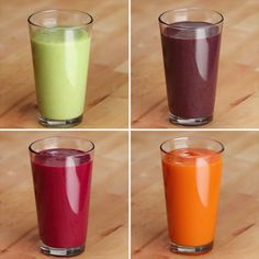 Veggie-Packed Smoothies 4 Ways