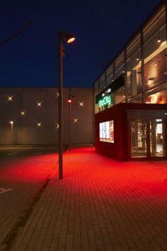 Naestved Cinema, Denmark. Partners Assistance: iGuzzini illuminazione Danmark…