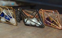 Cage necklaces