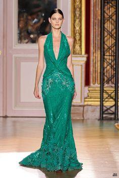 great green dress