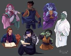 """""""Critical ~ We all agree that """"Spa Fjord"""" is the best Fjord right? Critical Role Campaign 2, Critical Role Fan Art, Dungeons And Dragons Memes, Dragon Memes, Dnd Art, Fantasy Concept Art, Character Drawing, Art Google, Art Reference"""
