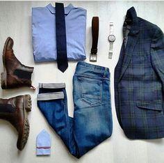 Outfit grid - Men's essentials