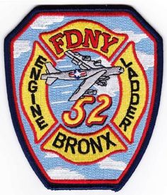 """4.5/"""" x 4.5/"""" size fire patch TX Houston  Engine-16 // Ladder-16  /""""Rice Owls/"""""""