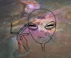 Si existe vida en otros planetas... - http://growlandia.com/highphotos/media/Si-existe-vida-en-otros-planetas-Fumara-marihuana/