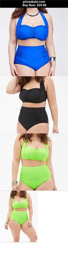 8e811a82f6e Women-Swimwear  NEW Women Plus Size Push Up Bikini Set Sexy High Waist  Swimwear