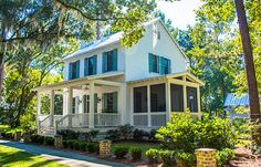 Looking for the best house plans? Check out the Bay Breeze plan from Southern Living. Two Story House Plans, Best House Plans, Dream House Plans, Dream Houses, Cottage Floor Plans, Cottage House Plans, House Floor Plans, Farm House, Small Cottage Homes