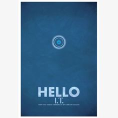 """Hello IT"" - The IT Crowd - Christian Petersen"