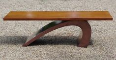 Copper finished Surf Bench with sapele top. chrisbose.co.uk British Made