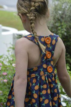 Tadah! tea party dress pattern - racer back