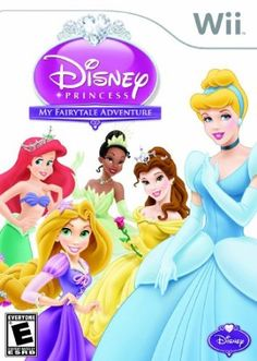 Disney Princess: My FairyTale Adventure Nintendo Wii worlds οf ѕοmе οf уουr favorite Disney princesses, including Cinderella, Belle, Tiana, Rapunzel аnԁ Ariel Nintendo 3ds Games, Wii Games, Music Games, Console Pc, 3d Mode, Princess Fairytale, Disney Games, Disney Toys, Adventures By Disney