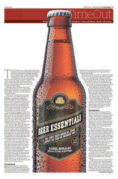 JT On Sunday TimeOut section. Beer essentials, June 5, 2016