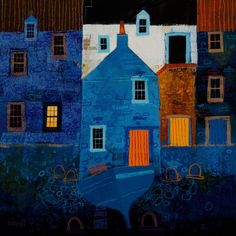 a new art gallery in Glasgow showing the works of George Birrell Building Painting, House Painting, Landscape Art, Landscape Paintings, Landscapes, Beautiful Dream, Beautiful Things, Colorful Paintings, Water Features