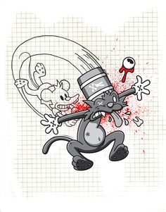 Itchy and Scratchy on Behance