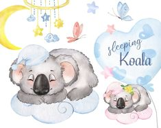 Little Elephant, Baby Elephant, Baby Decor, Baby Shower Decorations, Holiday Decorations, Birthday Clipart, Clipart Baby, Watercolor Animals, Elephant Watercolor