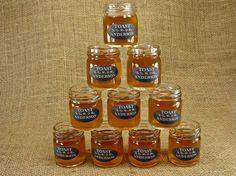 MY PERFECT WEDDING FAVORS!!  Personalized Mason Jar Shot Glasses  Chalkboard by glassactsupply, $50.00