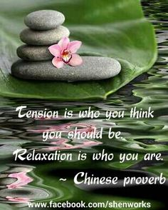 Image result for Chinese Proverbs Tension is who you think you are