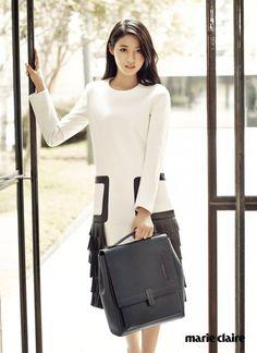 AOA's Seolhyun Poses for Marie Claire Magazine | Koogle TV