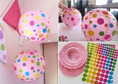 Decorating With Paper Lanterns | Creative paper lanterns decorations 5 Creative Paper Lantern ...