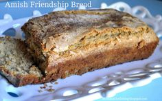 Immediate Amish Friendship Bread. YUM - no starter and no 10 day regiment!  Wahoo!