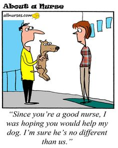 Nurses, we know you've been in this situation. How do you react? #allnurses #nursehumor