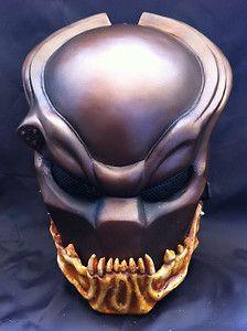 Predator Paintball Mask Predator Mask, Alien Vs Predator, Paintball Gear, Helmet Armor, Armor Clothing, Airsoft Mask, Helmet Paint, Custom Helmets, Cosplay Armor