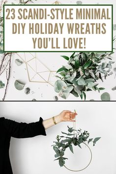 23 ultra modern and minimal holiday wreaths you can make – Create Cozy – Holiday Decorations Minimal Christmas, Natural Christmas, Modern Christmas, Christmas Design, Simple Christmas, Nordic Christmas, Christmas Wreaths For Front Door, Christmas Door, Holiday Wreaths