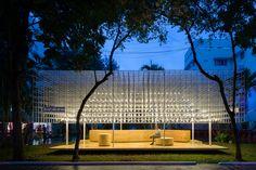 Pavilhão de alimentos vietnamitas / MIA Design Studio