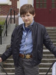 Once Upon a Time (TV show) Jared S. Gilmore as Henry.I can't wait to see what he looks like when he grows up.