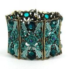 Vintage Style Navy Cuff Bracelet Jewelry Manufacturer Trendy New York .. by shawna