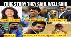 #VivoIPL #IPL2016 #IPL #MSDhoni #SachinTendulkar #ViratKohli #YuvrajSingh #AnushkaSharma #Bollywood Cricket Trolls    Love at Cricket​ sight.......Just for fun  http://www.crickettrolls.com/2015/10/07/love-at-cricket-sight/
