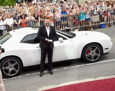 Chris Young and his Charger