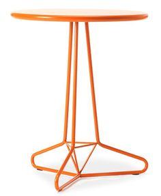 Tria Uno in orange / design by Matthias Demacker for Area Declic Furniture