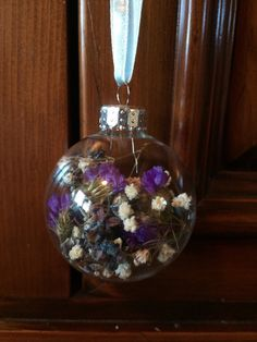 Dried Hydrangea Baby's Breath and Statice by TheFancyMoose on Etsy