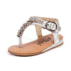 Embellished Infant Sandals
