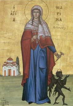 Saint Marina the Great Martyr and Vanquisher of Demons