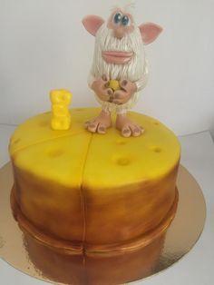 Booba cake 2 - cake by Childhoodoven 3rd Birthday Cakes, 4th Birthday Parties, Boy Birthday, Angry Birds Cake, Paw Patrol Cake, Animal Cakes, Scottie, Birthday Decorations, Guy