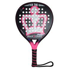 Black Crown, Nakano Drop Shot, Rackets, Tennis Racket, Crown, Mayo, Black, Products, Cape Clothing, Shape