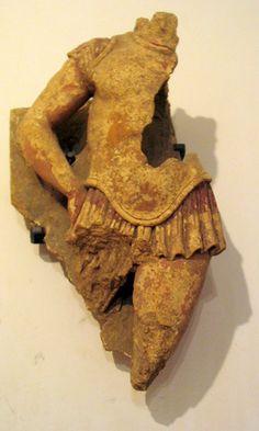 Etruscan terracotta warrior