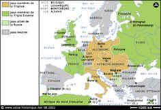 Cartes historiques de la première Guerre Mondiale