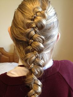 dutch braid with 1 microbraid strand