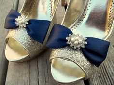 Hey, I found this really awesome Etsy listing at https://www.etsy.com/listing/229425079/bridal-shoe-clips-wedding-shoe-clips