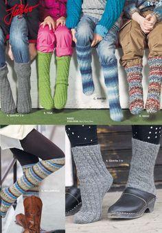 No-heel socks, perfect for beginners! Knit them in Mellanraggi, Raggi, Gästrike 3tr. Fuga, Lady or Big Verona.