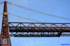 Puente colgante de Portugalete - Bilbao.