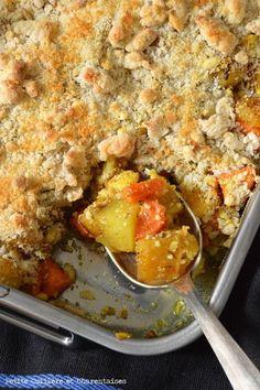 Petite Cuillère et Charentaises: Crumble de Légumes d'Hiver épicés