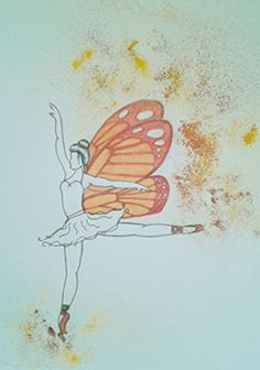 Dancing gives you wings.