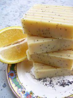 Lemon Poppy Seed Soap Recipe ~ Bath Alchemy - A Soap Blog and More
