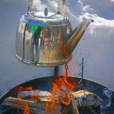 Og snart er kaffen klar...