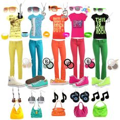 [neons] this absolutely looks like SHINee's wardrobe for the SHINee World Concert. perhaps this is the source of inspiration?